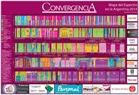 Mapa del Espectro en Argentina 2014. - Crédito: © 2014 Grupo Convergencia