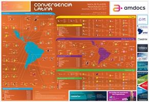 Mapa de Players Regionales 2017 - Crédito: Convergencialatina