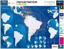 Mapa de Carriers en América latina 2020 - Crédito: © 2020 Convergencialatina