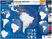 Mapa de Carriers en América latina 2021 - Crédito: © 2021 Convergencialatina