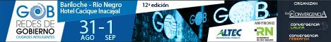 Redes de Gobierno y Ciudades Inteligentes - Bariloche 31 de agosto y 1 de septiembre 2017
