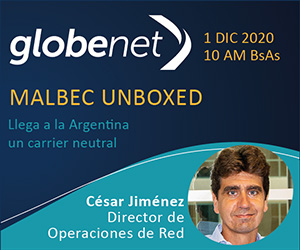 GlobeNet - Malbec Unboxed,1 DIC 2020, 10 AM Buenos Aires
