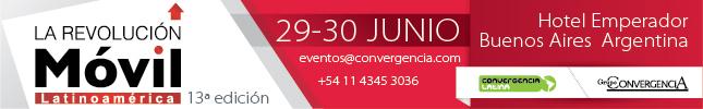 Participe en La Revolución Móvil 2016, 29 y 30 de Junio, Buenos Aires