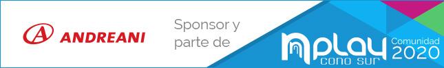 Andreani, sponsor y parte de la Comunidad NPlay 2020
