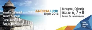 Expo Andina Link 2018- 6, 7 y 8 de Marzo, Cartagena