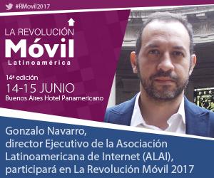 Gonzalo Navarro en La Revolución Móvil Latinoamérica 2017