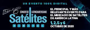 Congreso Latinoamericano de Satélites, 100% digital - 1,2,5, y 6 de octubre 2020