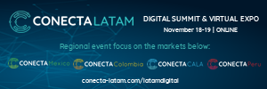 Conecta Latam, Digital Summit & Virtual Expo, Nov 18-19, online
