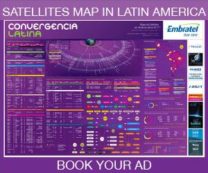 Reserve su aviso en el Mapa de Satélites 2019 antes del 30 de Junio