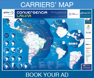 Carriers Map 2019. Book your ad