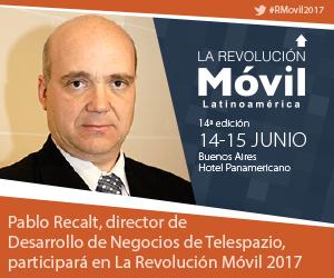 Pablo Recalt en La Revolución Móvil Latinoamérica 2017