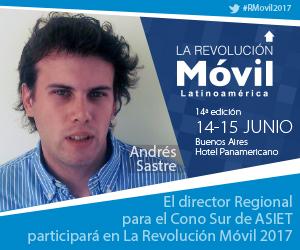 Andres Sastre en La Revolución Móvil Latinoamérica 2017