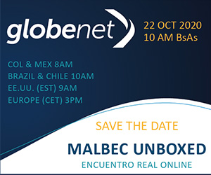 Globenet - Malbec Unboxed, 22 OCT 2020, 11 AM Buenos Aires