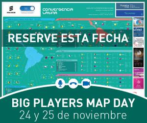 Big Players Map Day, 24 - 25 NOV 2021