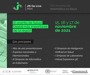 Jornadas de Informática en Salud 2021. 15, 16 y 17 de noviembre de 2021