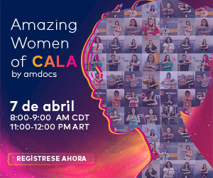 Amazing woman of Cala by Amdocs, 7 ABRIL