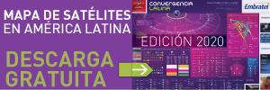 Mapa de Satélites en América latina 2020 - Descarga gratuita