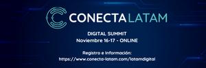 Conecta Latam Digital Summit, Noviembre 16-17, online